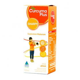 CURCUMA PLUS SHARPY ORANGE 120ML