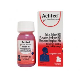 ACTIFED PLUS COUGH SUPRESSANT SIRUP 60 ML