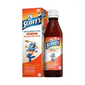 SCOTT EMULSION VITA ORANGE 400 ML
